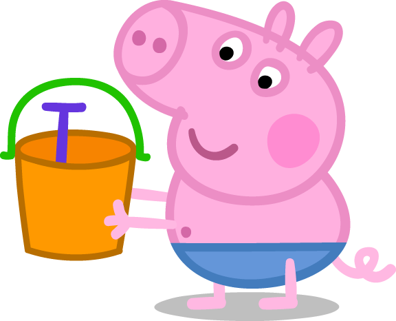 Peppa Pig Picture Frame Craft | Mama Likes This