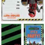 Dinotrux Printable Party Invitations