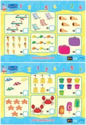 Free Peppa Pig Printable Math Worksheets