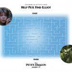 Pete's Dragon Maze Activity Page