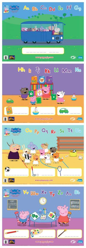 free peppa pig printable word puzzles mama likes this