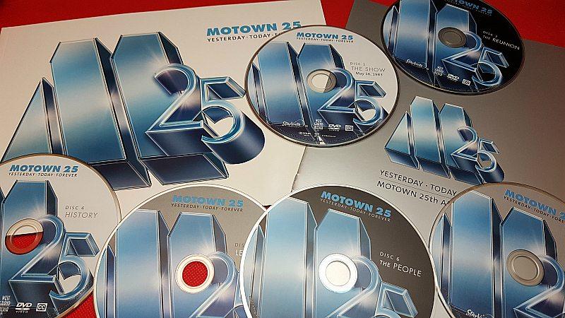 Motown 25 DVD Box Set
