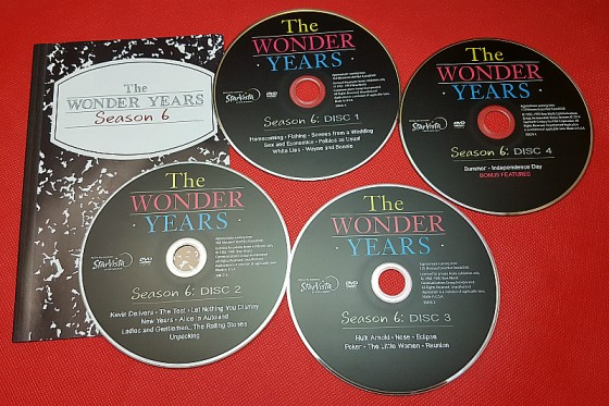 The Wonder Years Season 6 DVD Set