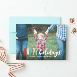 Basic Invite Holiday Cards