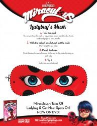 Miraculous Ladybug Mask Craft