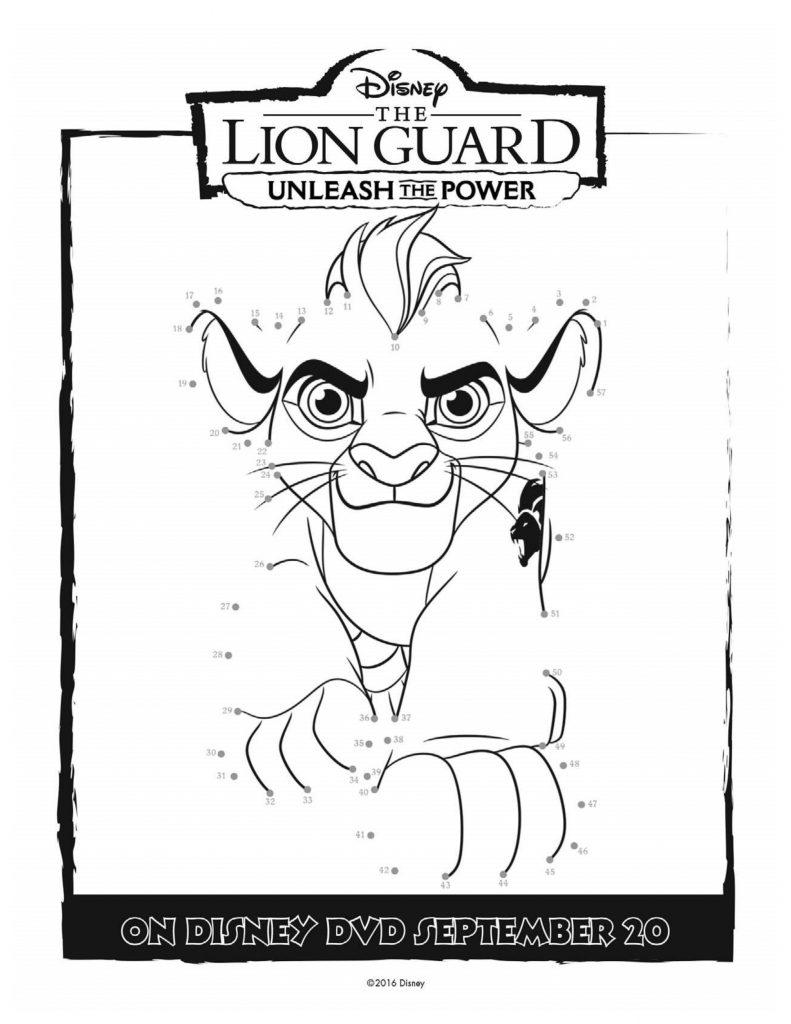 Disney Lion Guard Printable Coloring Page | Mama Likes This