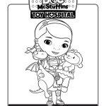 Disney Doc McStuffins Coloring Page