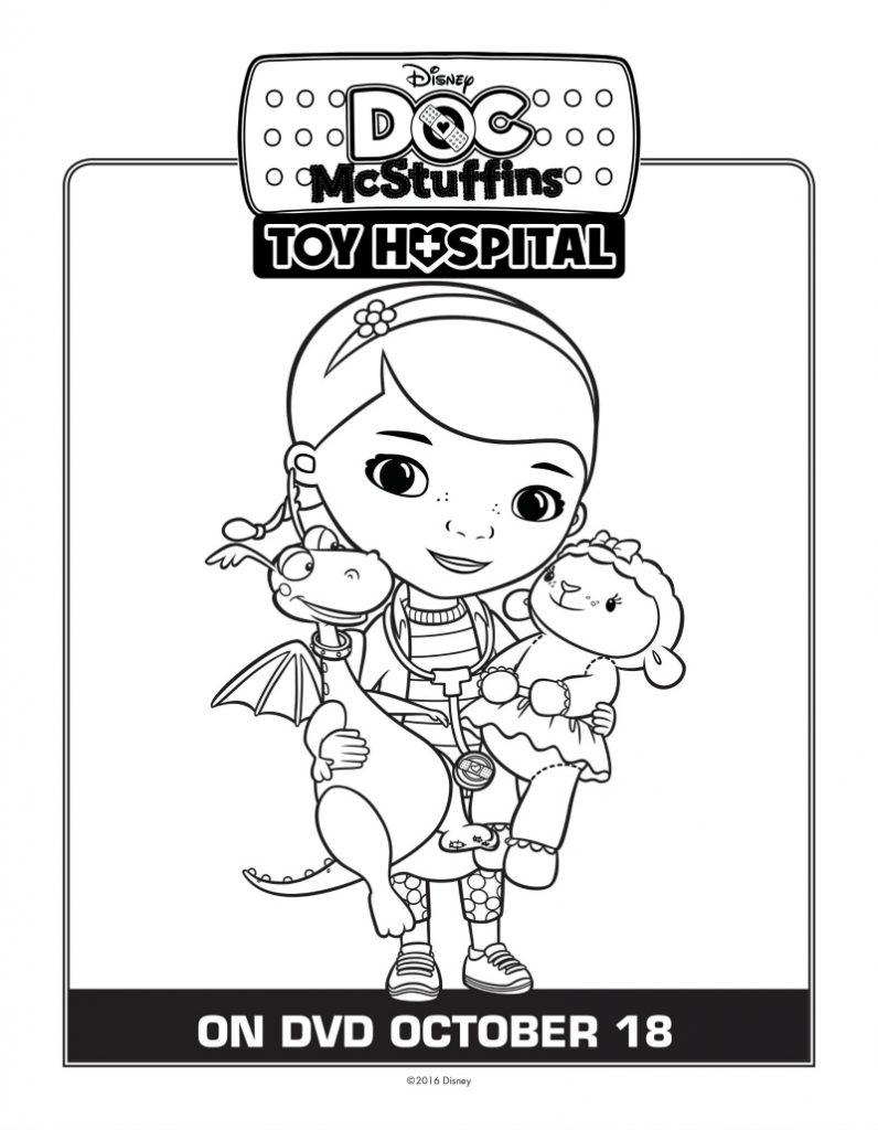 disney doc mcstuffins coloring page mama likes this