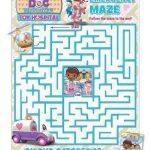 Disney Doc McStuffins Printable Maze