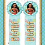 Disney Moana Bookmark Craft