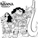 Free Disney Moana Movie Coloring Page