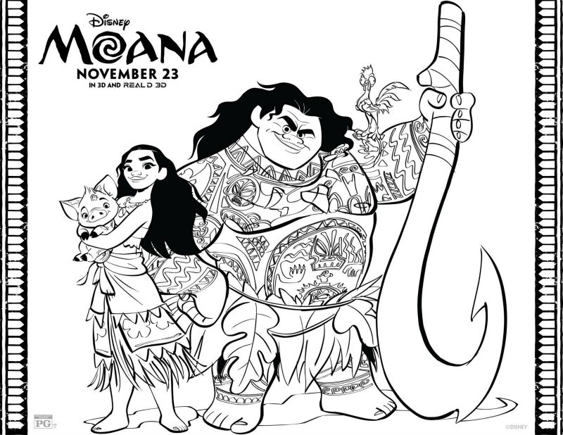 Free Disney Coloring Pages featuring Disney•Pixar's Coco! • The ... | 618x800