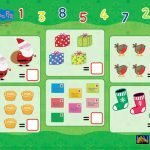 Peppa Pig Christmas Counting Worksheet