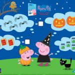 Halloween Peppa Pig Counting Activity Page