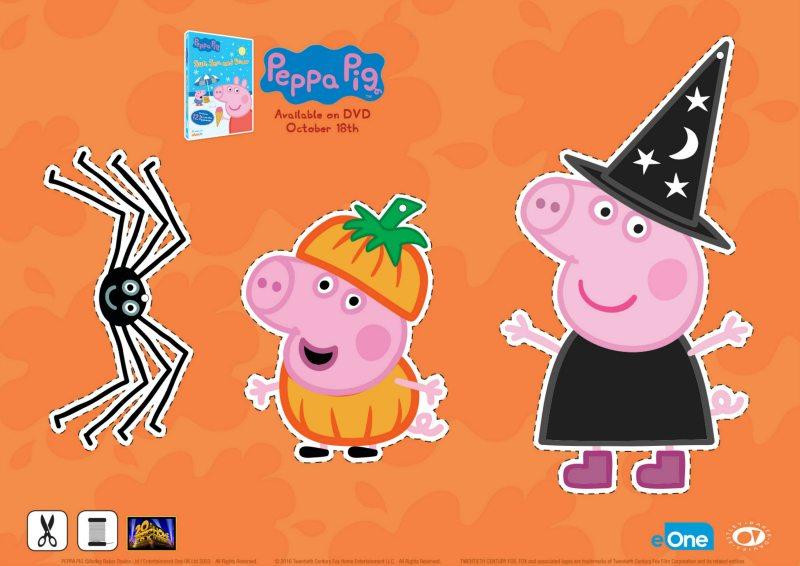Free Peppa Pig Halloween Decorations