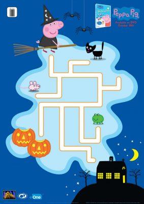 Peppa Pig Halloween Maze