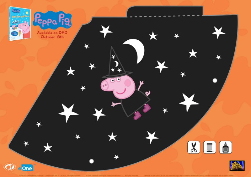 Peppa Pig Halloween Witch Hat Craft