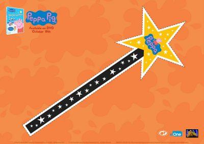 Peppa Pig Halloween Magic Wand Craft