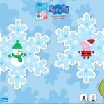 Peppa Pig Snowflake Ornament Craft
