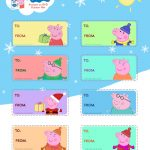 Free Peppa Pig Christmas Gift Tags