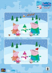 Peppa Pig Spot The Differences Activity Page