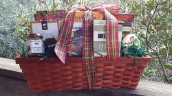 Gourmet Christmas Gift Basket
