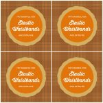 Free Printable Funny Thanksgiving Coasters