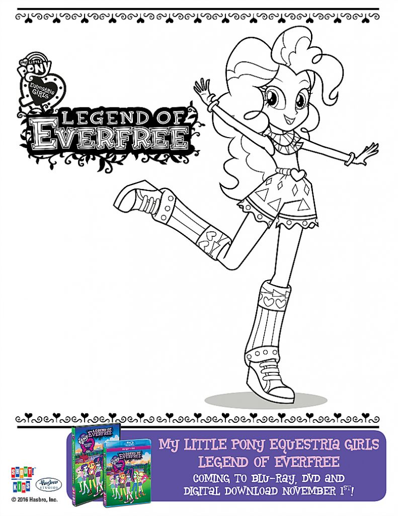 free my little pony equestria girls everfree coloring page mama