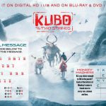 Kubo and The Two Strings Word Puzzles Activity Page