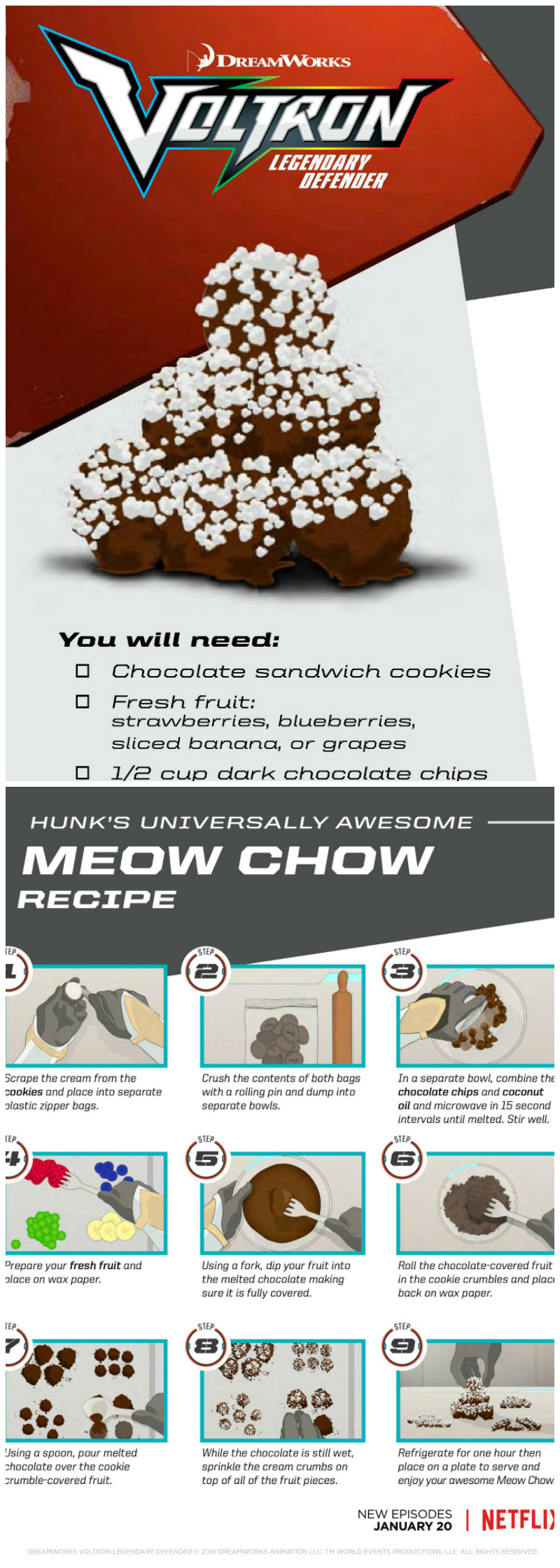 Voltron Meow Chow Recipe