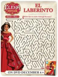 Disney Elena of Avalor Free Printable Maze
