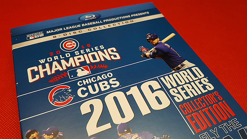 Chicago Cubs 2016 World Series Collector's Edition Blu-ray Set