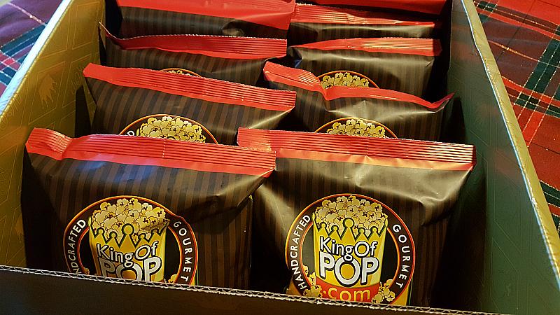 Holiday Gourmet Popcorn Sampler