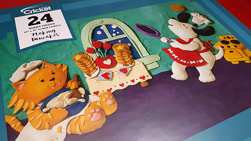 Making Pancakes Floor Puzzle
