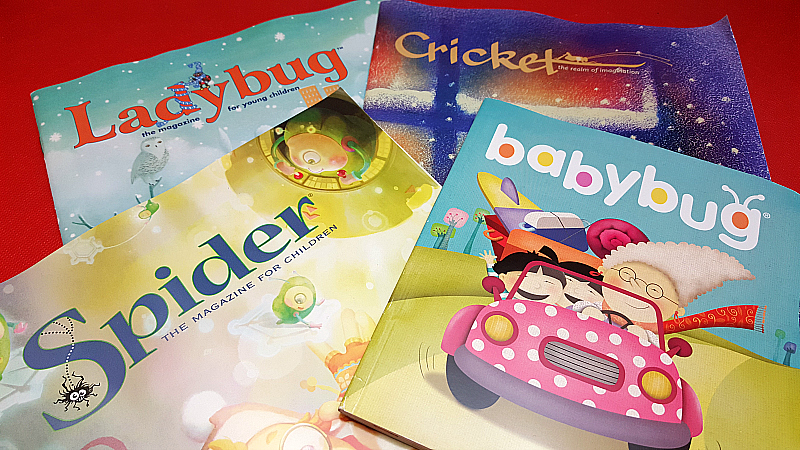 Cricket Media Bug Magazines