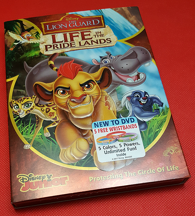 The Lion Guard - Life in the Pride Lands DVD
