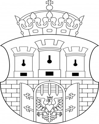 Coat of Arms Coloring Page