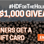 Home Depot Gift Card Giveaway – Ends 12/14/16