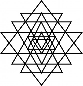 Triangles Triangles Triangles Coloring Page