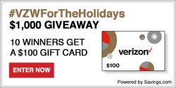 Verizon Gift Card Giveaway