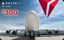 Delta Gift Card Giveaway