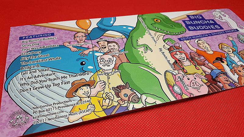 Big Buncha Buddies Children's CD