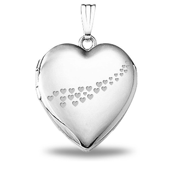 Sterling Silver Sweetheart Locket