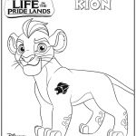 Disney Lion Guard Kion Coloring Page