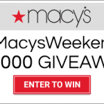 Macy's $50 Gift Card Giveaway – 20 Winners!