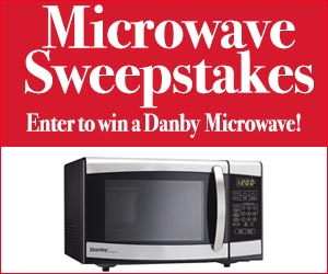 Microwave Oven Sweepstakes