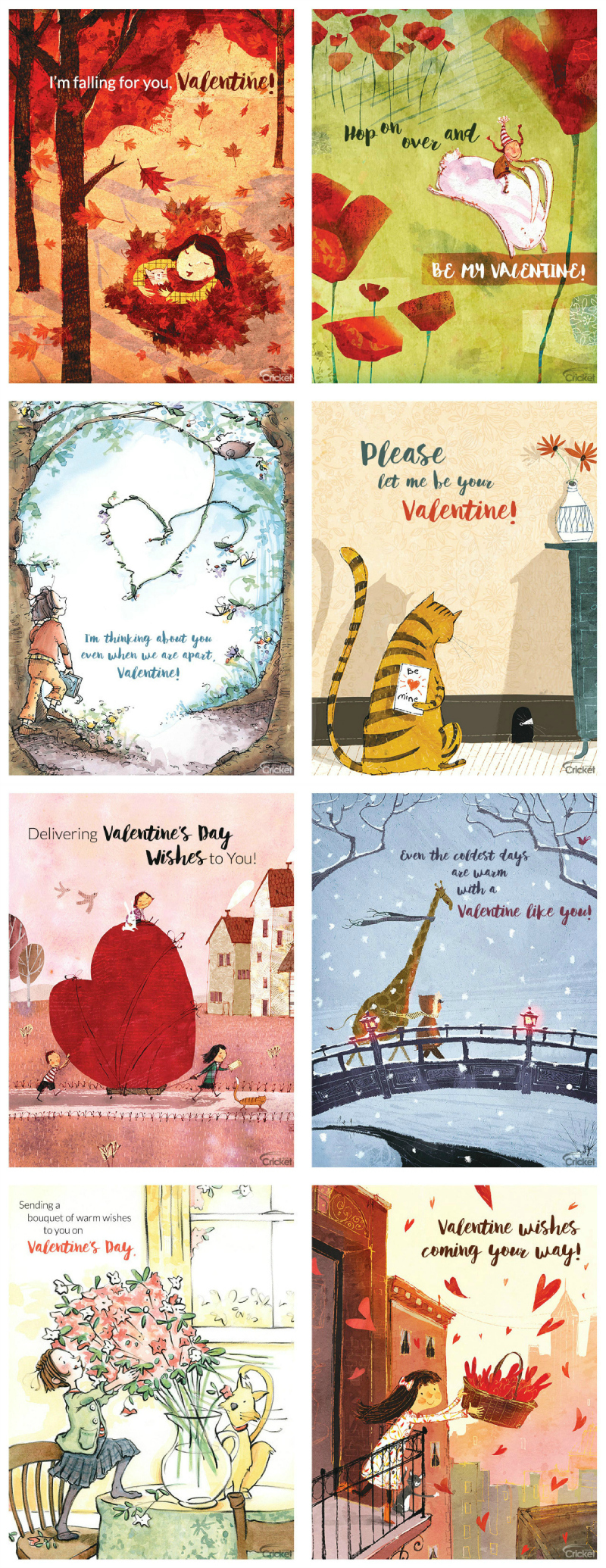 16 Free Printable Valentine's Day Cards