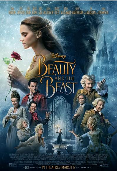 Beauty and The Beast Will Be Here Soon!