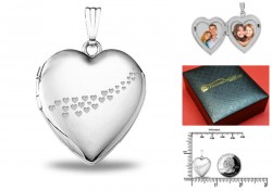 Sterling Silver Sweetheart Locket