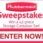Rubbermaid Storage Container Set Giveaway – Ends 1/31/17